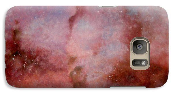 Galaxy Case featuring the painting A Lady In Dream by Min Zou