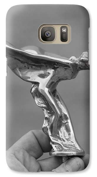 Galaxy Case featuring the photograph A Lady In Hand by Dodie Ulery