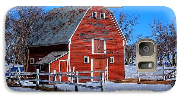 Galaxy Case featuring the photograph A Little Bit Of Country by Larry Trupp