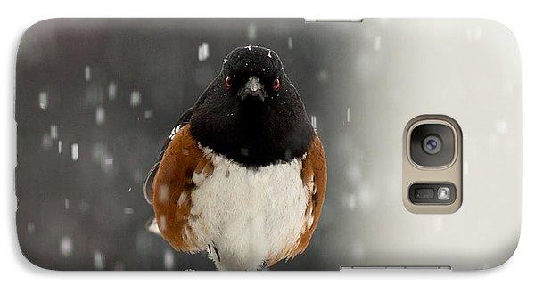 Galaxy Case featuring the photograph A Little Help Please? by Dennis Bucklin