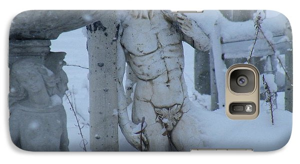 Galaxy Case featuring the photograph A Load Of Snow by Brian Boyle