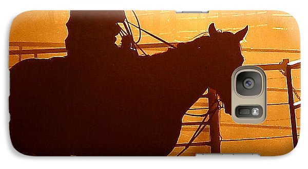 Galaxy Case featuring the photograph A Long Day by Steven Reed
