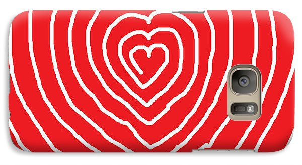 Galaxy Case featuring the painting A Love That Is Without Limits by Anita Dale Livaditis