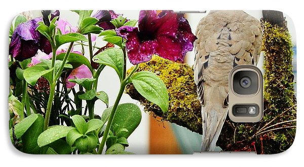 Galaxy Case featuring the photograph A Lovely Morning by VLee Watson