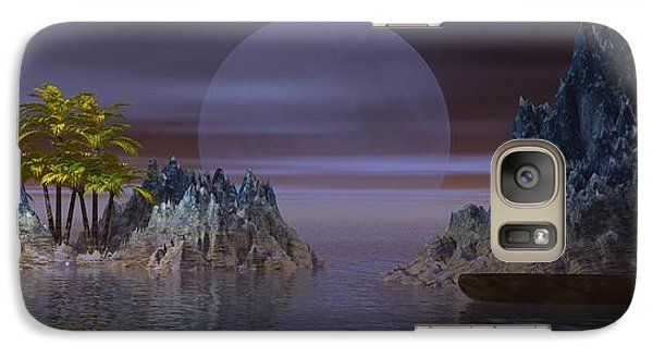 Galaxy Case featuring the digital art A Lover's Hide-a-way by Jacqueline Lloyd