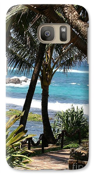 Galaxy Case featuring the photograph A Maui Afternoon by Mary Lou Chmura
