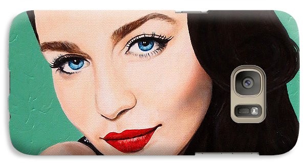 Galaxy Case featuring the painting A Modern Classic by Malinda Prudhomme