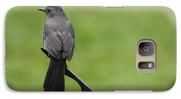 Galaxy Case featuring the photograph A Moment In Time by Trina  Ansel