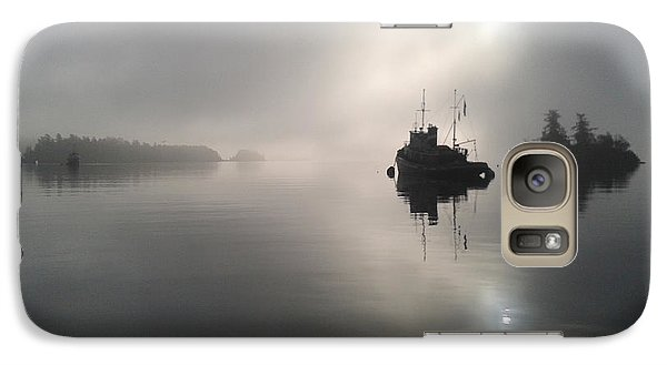 Galaxy Case featuring the photograph A Moody Morning by Mark Alan Perry