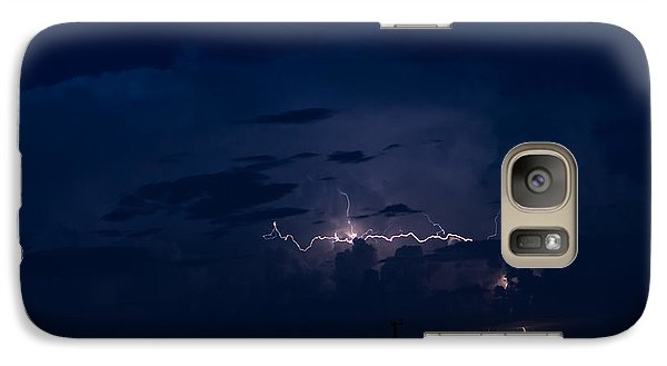 Galaxy Case featuring the photograph A Near Right Angle In Nature by Carolina Liechtenstein