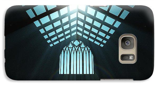 Galaxy Case featuring the digital art A New Church... by Tim Fillingim