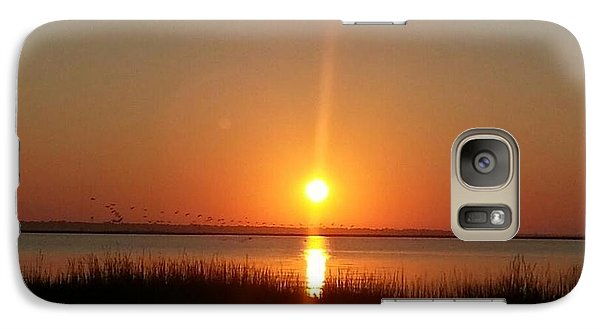 Galaxy Case featuring the photograph A New Day Is Born by Joetta Beauford