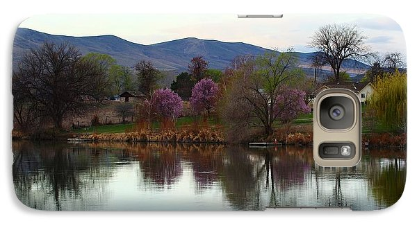 Galaxy Case featuring the photograph A New Day by Lynn Hopwood
