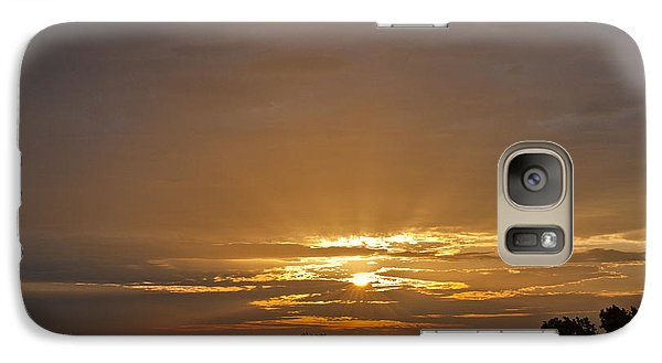 A New Day - Sunrise In Texas Galaxy S7 Case