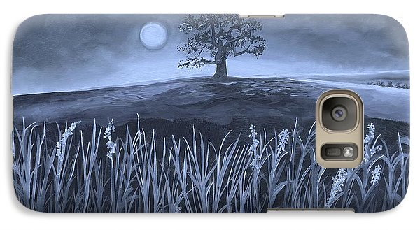 Galaxy Case featuring the painting A Night At The Plains by Nereida Rodriguez