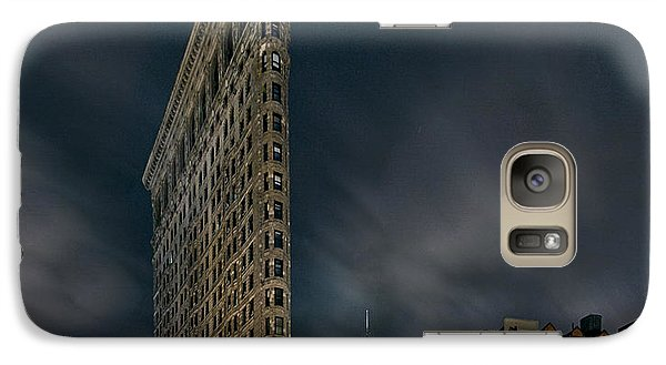 Galaxy Case featuring the photograph A Night In Nyc by Anthony Fields