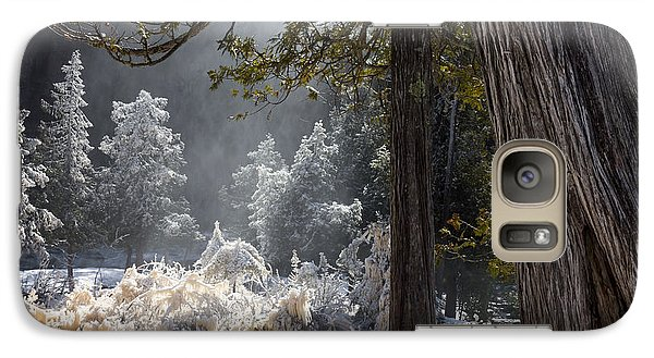 Galaxy Case featuring the photograph A North Woods Fairy Tale by Mary Amerman