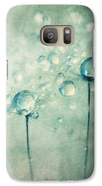 Galaxy Case featuring the photograph A Pair Of Sparkles by Sharon Johnstone