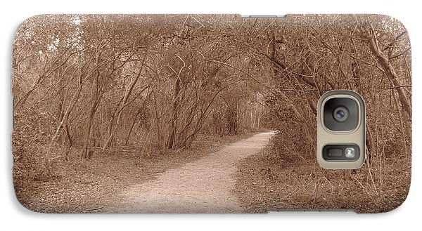 Galaxy Case featuring the photograph A Path In Life by Beth Vincent