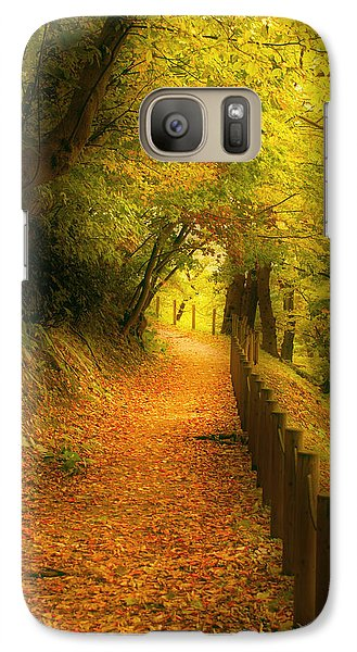 Galaxy Case featuring the photograph A Path Well Chosen by Tim Ernst