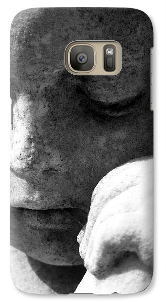 Galaxy Case featuring the photograph A Peaceful Sleep by Max Mullins