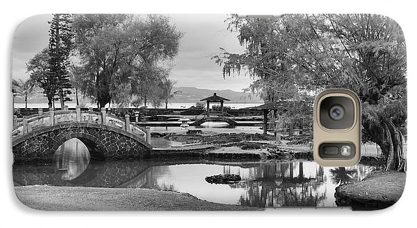 Galaxy Case featuring the photograph A Peaceful Stroll by Harold Rau