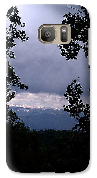 Galaxy Case featuring the photograph A Peek At Heaven by Fortunate Findings Shirley Dickerson