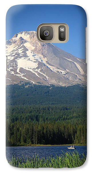 Galaxy Case featuring the photograph A Perfect Day For Fishing by Karen Lee Ensley