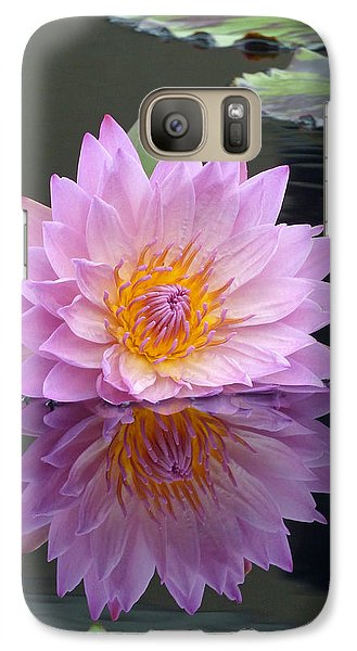 Galaxy Case featuring the photograph A Perfect Reflection by Cindy McDaniel