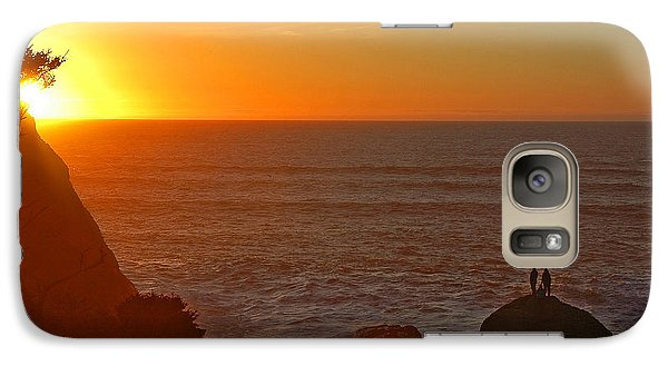 Galaxy Case featuring the photograph A Perfect Time by Nick  Boren