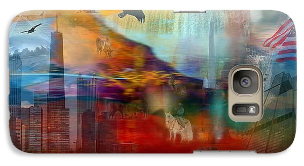 Galaxy Case featuring the photograph A Piece Of America by Randi Grace Nilsberg
