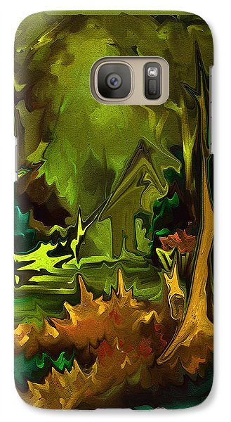 Galaxy Case featuring the painting A Place To Go by Steven Lebron Langston