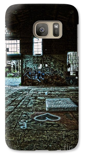 Galaxy Case featuring the photograph A Place With Heart by Debra Fedchin
