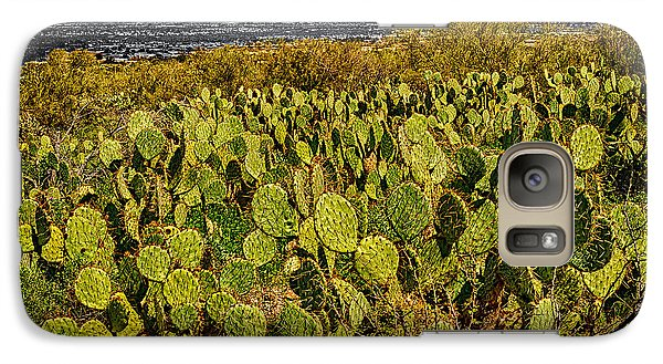 Galaxy S7 Case featuring the photograph A Prickly Pear View by Mark Myhaver