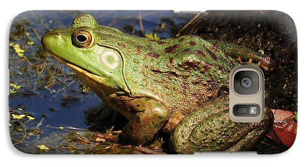 Galaxy Case featuring the photograph A Prince Of A Frog by Kathy Baccari