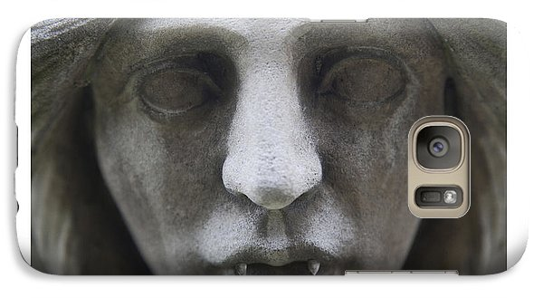 Galaxy Case featuring the digital art A Princely Kiss Unnaturally Disturbed Poster by David Davies