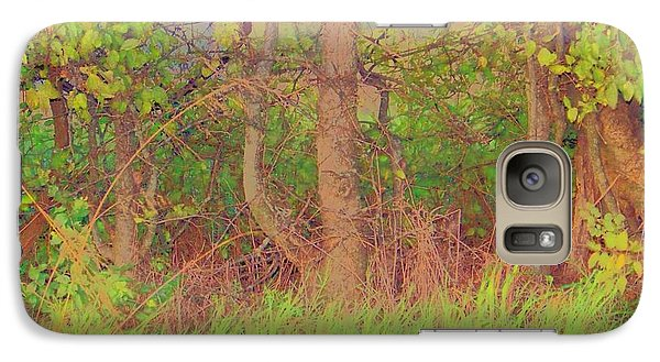Galaxy Case featuring the photograph A Quiet Place by Shirley Moravec