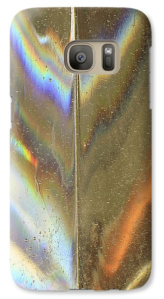 Galaxy Case featuring the photograph A Rainbow Within by Kate Purdy