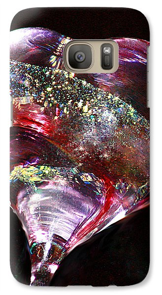 Galaxy Case featuring the photograph A Rainbow's Heart by The Art Of Marilyn Ridoutt-Greene