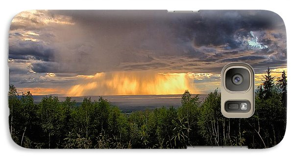 Galaxy Case featuring the photograph A Rainy Night In Minto  by Michael Rogers