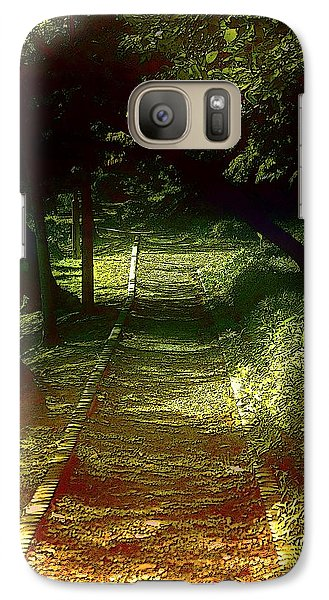 Galaxy Case featuring the photograph A Road Less Travelled by Tim Ernst