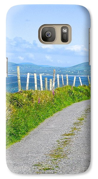 Galaxy Case featuring the photograph A Road To Waterville by Suzanne Oesterling
