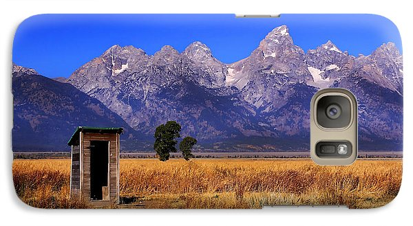 Galaxy Case featuring the photograph A Room With Quite A View by Clare VanderVeen