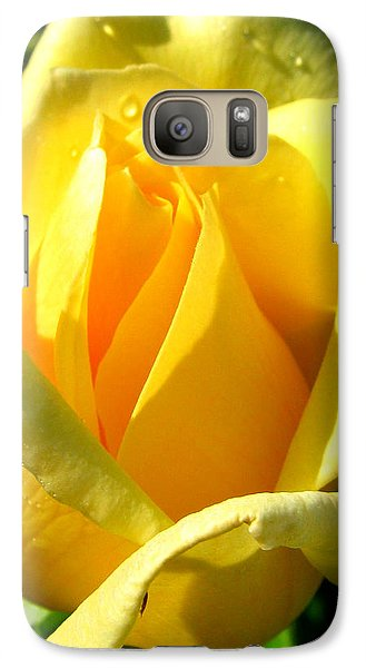 Galaxy Case featuring the photograph A Rose For My Friend by Janice Westerberg