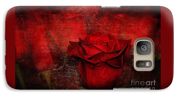 A Rose For You Galaxy S7 Case by Kaye Menner