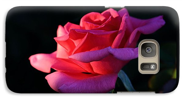 Galaxy Case featuring the photograph A Rose Is A Rose by David Andersen