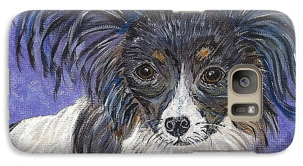 Galaxy Case featuring the painting A Royal Papillon by Ella Kaye Dickey
