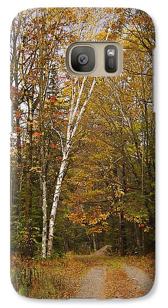 Galaxy Case featuring the photograph A Rural Fall  by Judy  Johnson