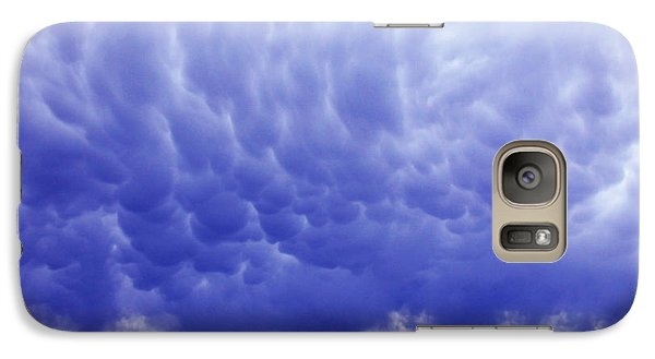 Galaxy Case featuring the photograph A Rural Nebraska Highway And Magnificent Sky by Tyler Robbins