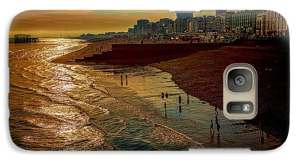 Galaxy Case featuring the photograph A September Evening In Brighton by Chris Lord